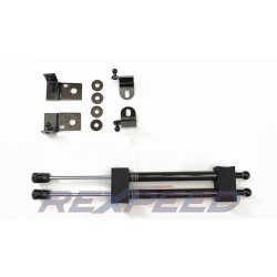 Verins de capot carbone Rexpeed Subaru BRZ/Toyota GT86