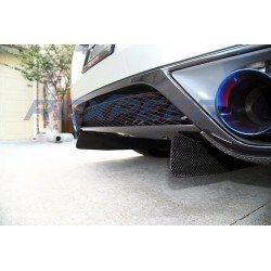 Jeu de 2 ailettes diffuseur en carbone Rexpeed Nissan GT-R35