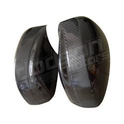 Coque de rétroviseur en carbone brillant Dodson Motorsport
