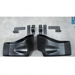 Jeu écopes de frein carbone Rexpeed Nissan GT-R35