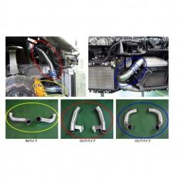 Tubulure d'échangeur HKS Nissan GT-R35