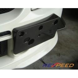 Support de plaque Rexpeed Mitsubishi Lancer Evolution