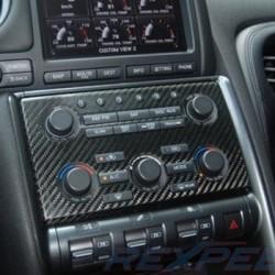 Habillage Carbone Autoradio Nissan GTR