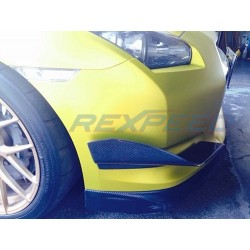 Flaps Avant en carbone Rexpeed Nissan GT-R35