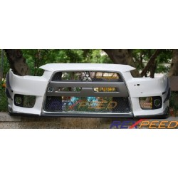 Extensions pare-choc avant Rexpeed Mitsubishi Lancer Evolution X