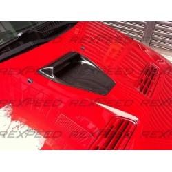 Prise d'air capot carbone Rexpeed Mitsubishi Lancer Evolution X