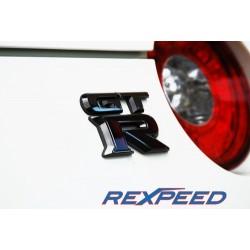 Logo GTR Noir Chrome Rexpeed