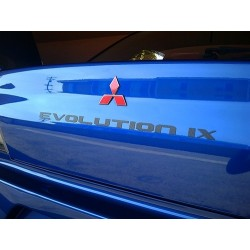 Badge carbone Rexpeed Mitsubishi Lancer Evolution