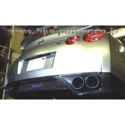 Catback et y-pipe HKS Racing Muffler pour Nissan GTR R35