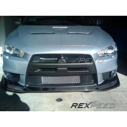 Lame Avant carbone V-Style Rexpeed Mitsubishi Lancer Evolution X