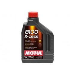 Bidon d'huile 2L Motul 8100 X-Cess 5W40
