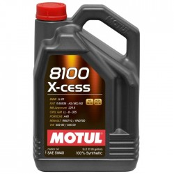 Bidon d'huile 5L Motul 8100 X-Cess 5W40