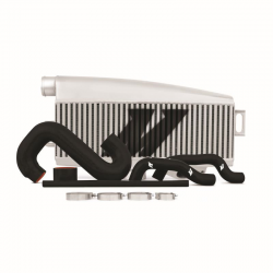 Kit échangeur Top-Mount Gris Aluminium Mishimoto  - WRX/STI, 2002-2007