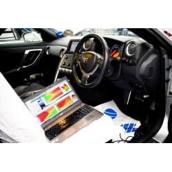E-Reprogrammation avec licence Ecutek GTR R35