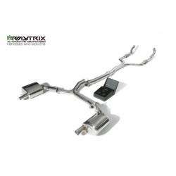 Catback Armytrix en acier inoxydable avec valves pour Mercedes Benz Classe E W213 E43/E400 AMG