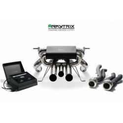 Catback Armytrix en titane avec valves, sorties en titane pour Lamborghini Aventador LP740-4 S