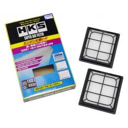 Pack de 2 filtres à air HKS Super Hybrid Filter pour Nissan 370Z, 350Z et Infiniti