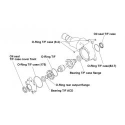 Kit refection pont avant ACD Mistubishi Evo 7 à 9