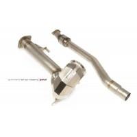 Catégorie Echappement - GL Racing Shop : Downpipe renforcé AMS Golf R MK7