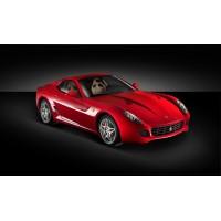 Catégorie 599 GTB - GL Racing Shop : Catback Armytrix en titane avec valves, sorties bleues pour Ferrari 599 GTB/GTO , Catbac...