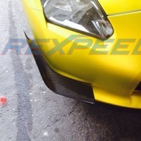 Catégorie Flaps - GL Racing Shop : Flaps Style C pare choc arrière Rexpeed Subaru BRZ/Toyota GT86 , Flaps STI pare choc arriè...